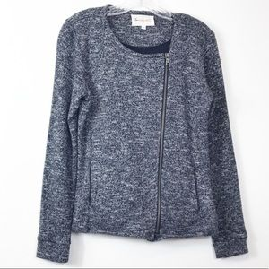 Two by Vince Camuto Knit Motto Jacket Zip S